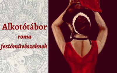 Alkotótábor roma, kortárs festőművészek részére