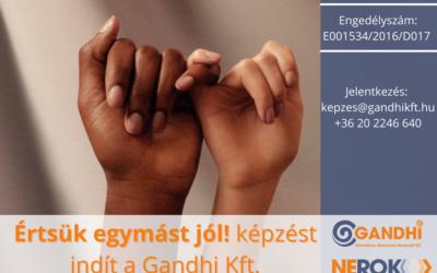 'Értsük egymást jól!' felnőttképzést indít a Gandhi Kft.